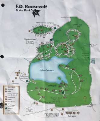 FDR Campground Map