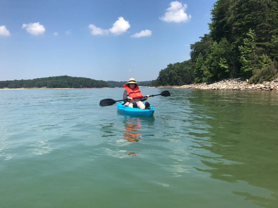 Kayaking-Lake-Lainer