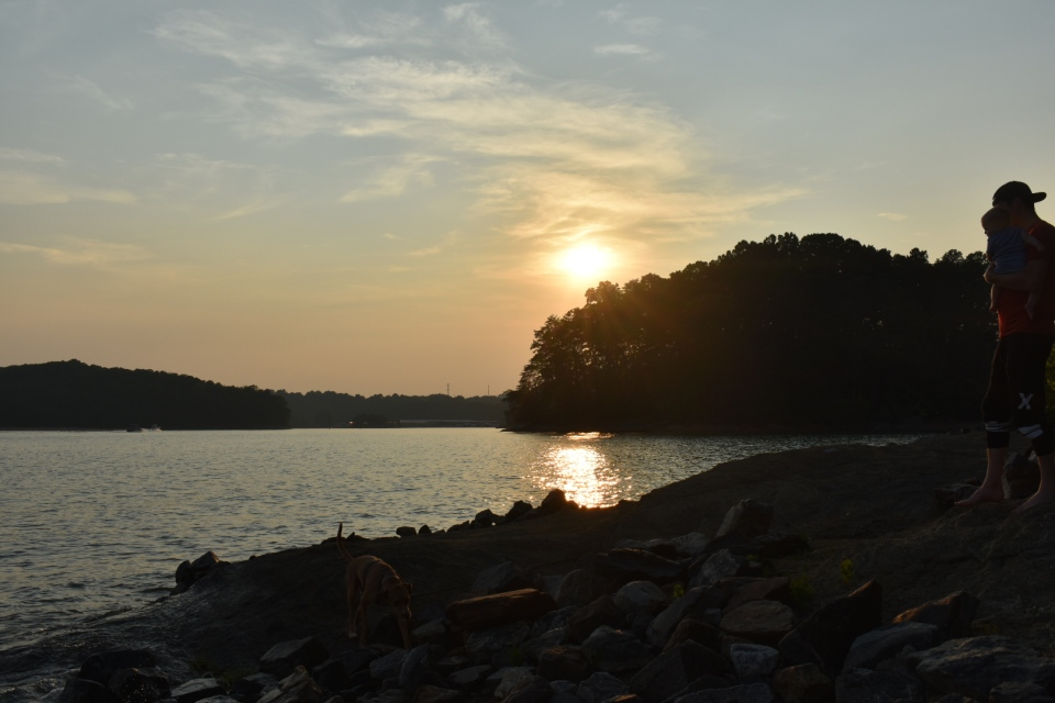 Lake Lanier Sunset at Bald Ridge
