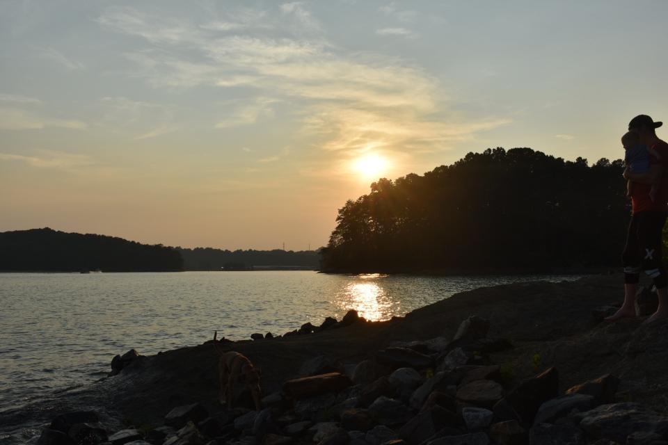 Lake Lanier Sunset at Bald Ridge