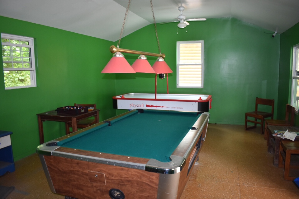 Pine Ridge Campground Gameroom