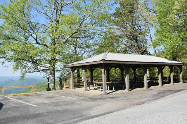 Black Rock Mountain picnic area
