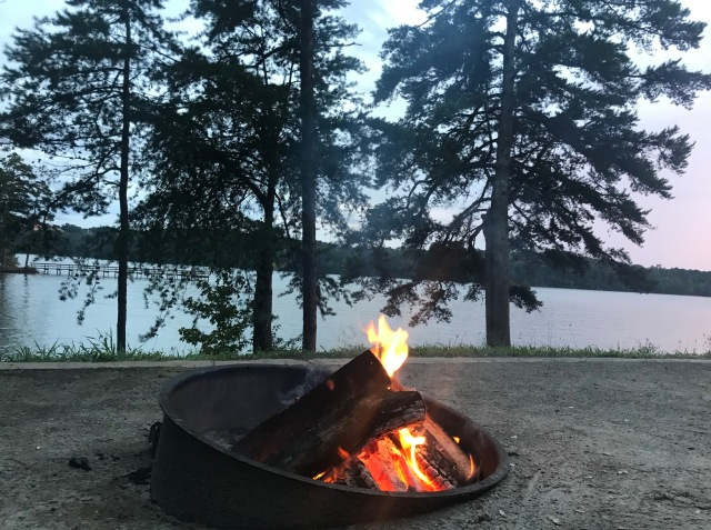 Lake-Lanier-Campfire
