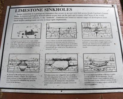limestone-sinkholes