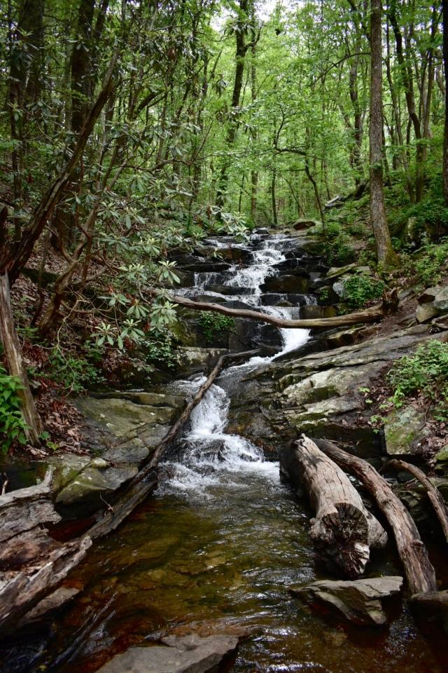 falls-big-rock-trail-fort-mountain