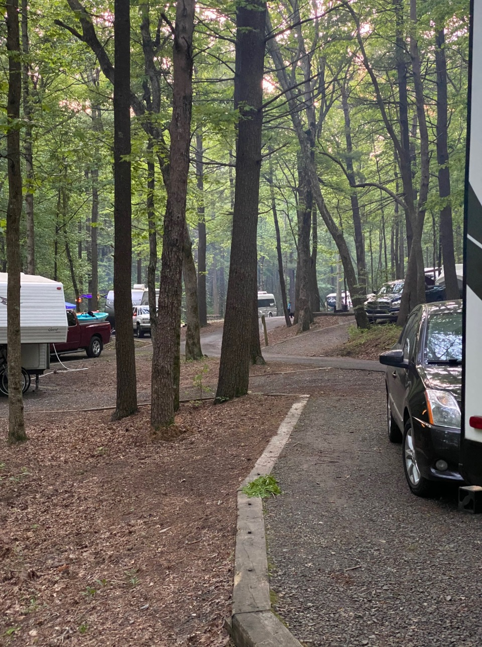 fort-mountain-creekside-campground-road