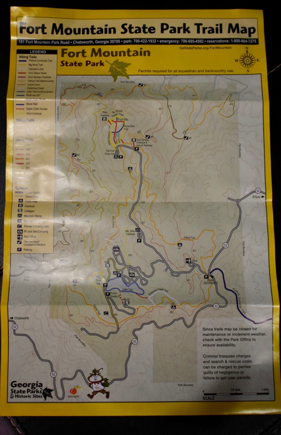 fort-mountain-trail-map