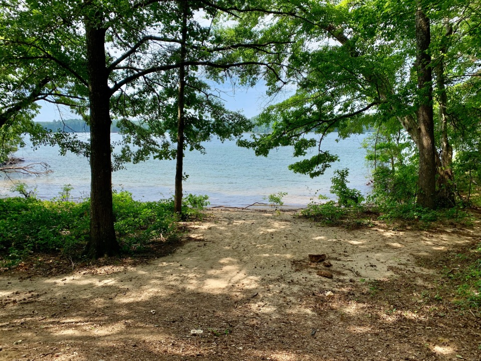 sandy-water-entrance-bald-ridge-campground